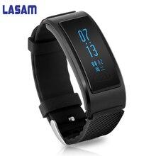 В наличии Черный Смарт Спорт Bluetooth Браслет фитнес-трекер Шагомер Смарт SmartBand браслет часы для iOS и Android