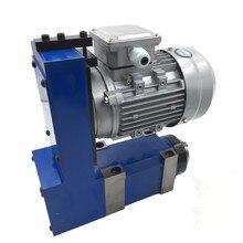 Mili ünitesi MT3 BT30 ER25 güç kafası 3000rpm 8000rpm 370W indüksiyon Motor V kayış tahrik CNC delme freze oyma