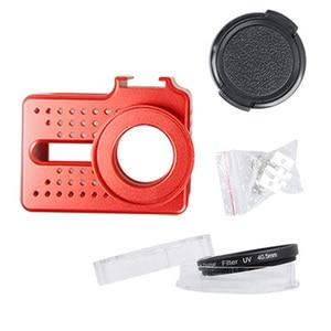 Image 4 - New for Xiaomi Yi 2 4k Accessory Aluminium Alloy Metal Housing Frame Protective Case yi cage for Xiao Yi 4k action camera