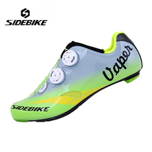 Sidebike Riding Cycling Shoes Road Carbon Breathable Sidebike Bicycle Shoes Cycle Sneakers Sapatilha Ciclismo Zapatillas