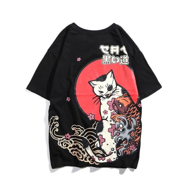 GONTHWID Japanese Ukiyo Cat...
