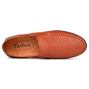 Image 2 - OZERSK אופנה גברים אמיתי עור נעלי זכר שמלת חתונה קלאסי עסקי המפלגה משרד חתונה ופרס גברים של דירות נעליים
