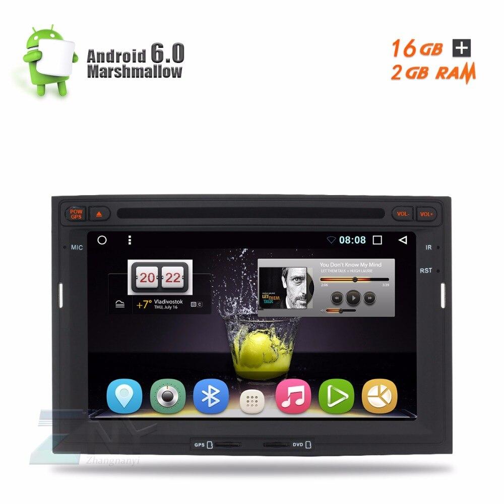 """imágenes para En la Acción! 7 """"Android 6.0 de DVD Del Coche Para Citroen Berlingo Peugeot Partner Auto Radio RDS Stereo Audio Video Gps Wi-Fi DAB"""