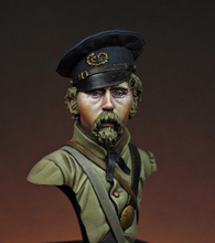 Assembly  Unpainted  Scale 1/16   World War II Kentucky infantry bust  figure Historical WWII Resin Model Free Shipping