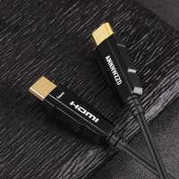 HDMI 2.0 Cable 4K 60Hz Fiber Optic HDMI Cable 2.0 2.0a 2.0b HDR for HDTV Xiaomi Box Projector PS4 Cable HDMI 10m 15m 30m 50m
