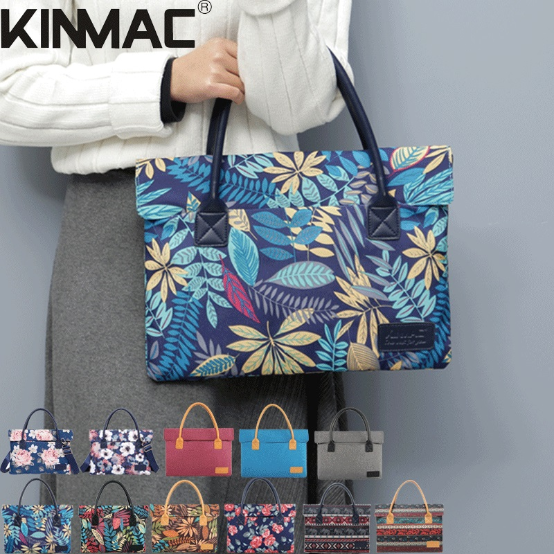 2018 New Brand Kinmac Handbag Bag For Laptop 13,14,15,15.6 inch,Sleeve Case For MacBook Air Pro 13.3,15.4Free Drop Shipping