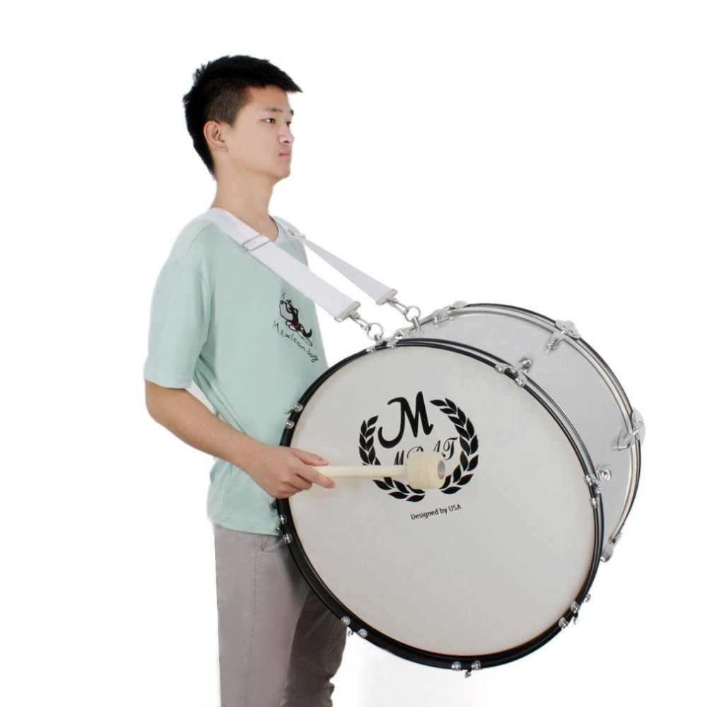 Comfortable Drum Strap Easy to Carry for Snare Drum for Waist Drum Relieve The Pressure of Shoulder Hong Adjustable Nylon Drum Shoulder Strap