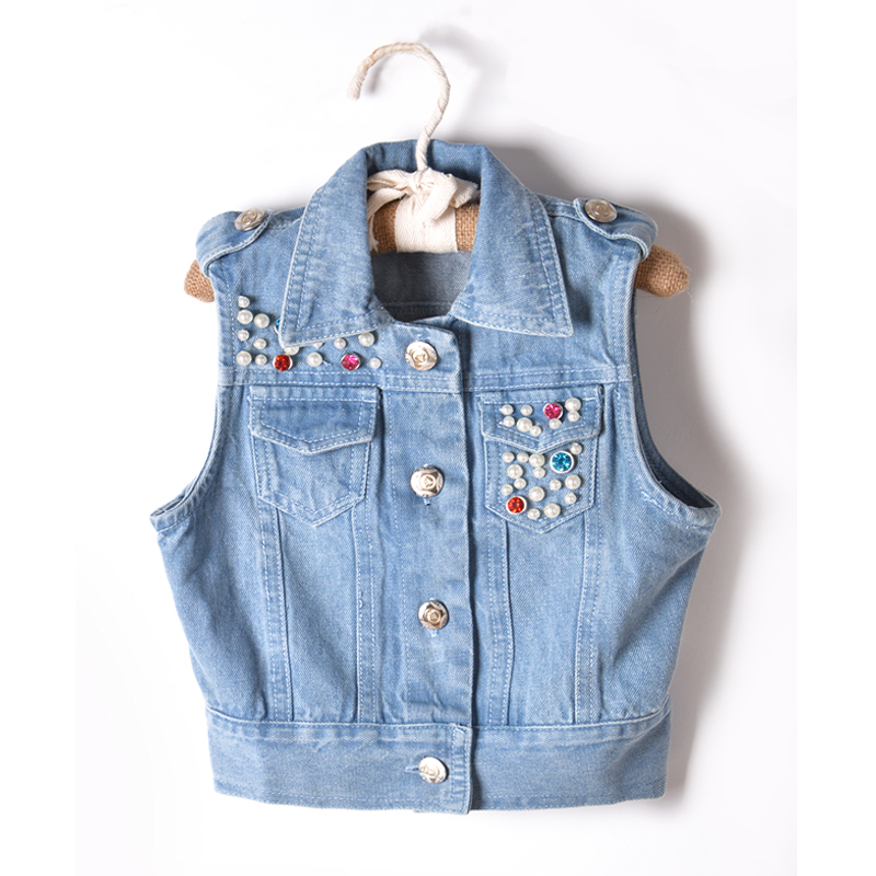 Save up to 70% on denim jackets and vests for girls on zulily. Shop distressed, medium-wash and colored jeans to keep your little one stylish on all occasions.