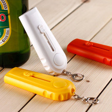 Portable Flying Cap Launcher Bottle Openers 1 PC Kitchen Gadgets Beer Opener Bar Accessories Key Chain Multifunction