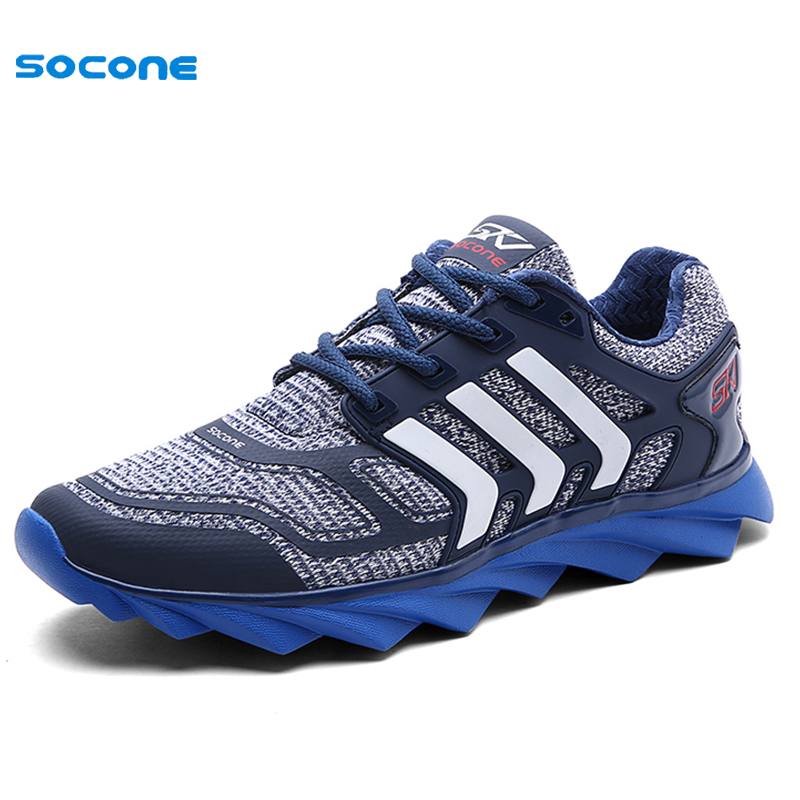 2016 New Arrival Cushion Men Running Shoes Spring Sports For Boy Athletic Sneakers Men Outdoor Mesh