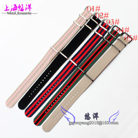 Nylon Watch Band Canvas Strap Watch 20mm NATO NATO For Men And Women