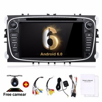 2 Din Android 6 0 Quad 4 Core Car DVD Player GPS Navi USB RDS SD
