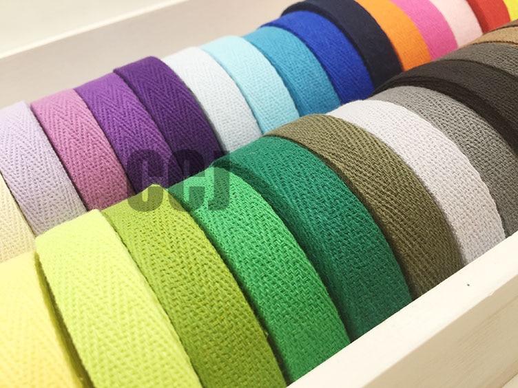 2 Inch Cotton Twill Tape Herringbone Apron Bias Binding Ribbon Trim Sew Roll