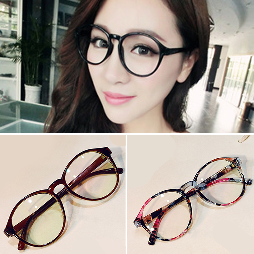 95e3c3b5ce New Vintage Optical Glasses Frame Clear Glass Men Women Brand Round ...