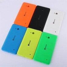 Вернуться Замена Крышки Случая Для Nokia Microsoft Lumia 640, корпус Задняя Крышка Батарейного Отсека Для Nokia Lumia 640, с Боковой Кнопки