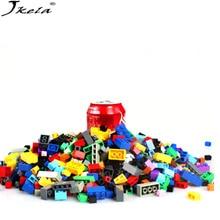 ФОТО [jkela] compatible with legoings duplo 5000pcs building blocks city creative bricks educational building block toys for child