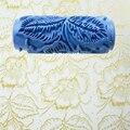 """Heißer Verkauf DIY 5 """"3D gummi dekorative wandmalerei roller  085YB  freies verschiffen  wand muster design roller  blumenmuster-in Mal-Werkzeugset aus Werkzeug bei"""