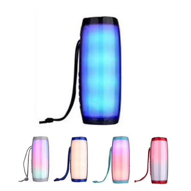 Outdoor Stereo Loudspeakers Melody-Lantern TG157 Colorful Waterproof Wireless Bluetooth