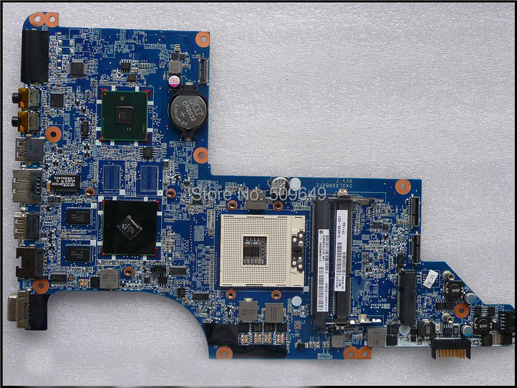 Top quality , For HP laptop mainboard DV7 DV7-4000 614535-001 HM55 laptop motherboard,100% Tested 60 days warranty 605320 001 free shipping original laptop mainboard 615307 001 for hp pavilion dv7 dv7 4000 motherboard da0lx6mb6h1