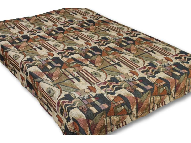 Bedspread полутораспальное АльВиТек, Tapestry, 04, 143*205 cm wall bricks wood floor print tapestry