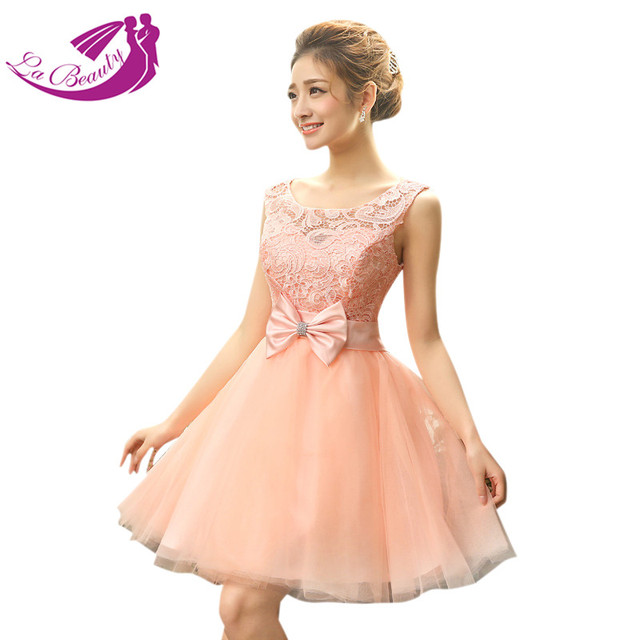 178e6eb55c Nude Pink Short Homecoming Dresses Prom Dresses Vestidos De Curtos Para  Formatura Tulle Applique Lace Homecoming Dress WA363