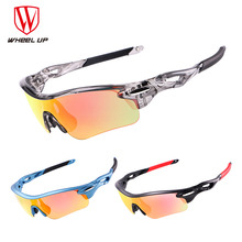 WHEEL UP Bicycle Glasses Eyewear HD Polarized Cycling Sun Glasses Coating Outdoor Sports