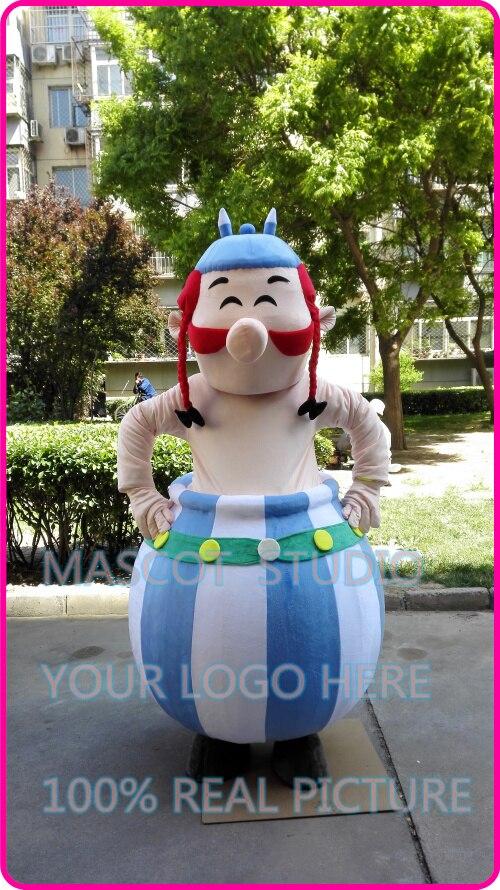 Mascotte obélix mascotte costume fantaisie personnalisé anime cosplay kits mascotte thème de bande dessinée déguisements