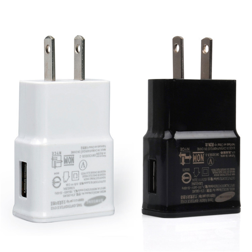 5V 1A US AC Plug USB Moblie Phone Charger Universal Travel Power Adapter Wall Charger For IPhone Samsung HTC Cell Phones