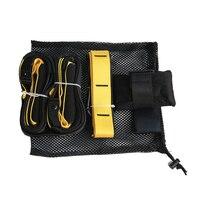 Suspension Exerciser Pull Rope Hanging Training Strength Belt Resistance Bands Crossfit Fitness Equipment Strap