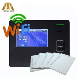 Новое поступление ZK CU600 125 кГц RFID карта посещаемость времени с TCP/IP WIFI биометрическая запись времени EM карта Время часы