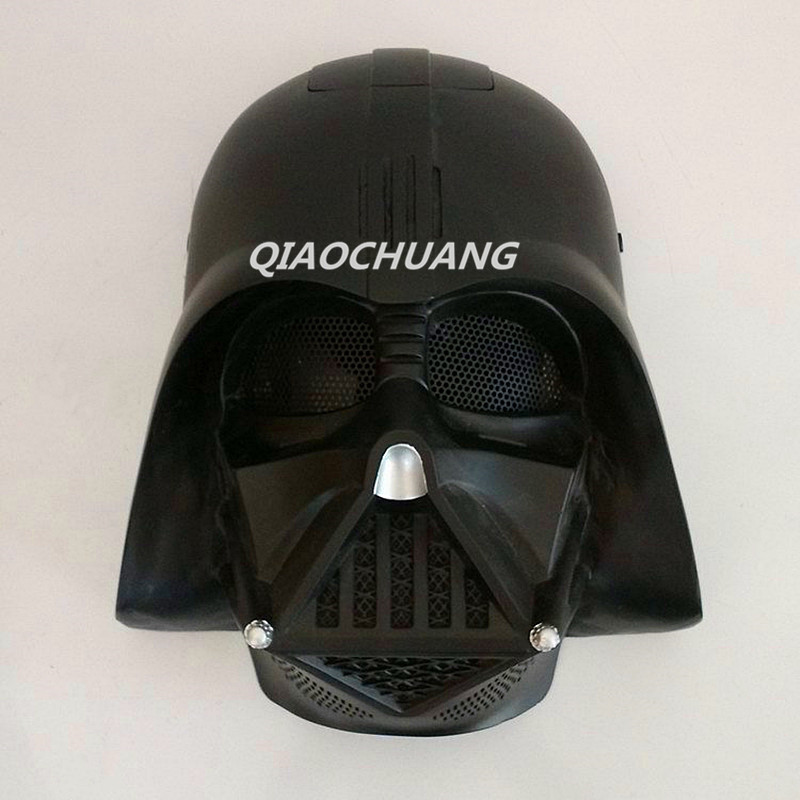 Star Wars Mask Helmet Halloween Cosplay Darth Vader Horror Helmet  Halloween Props Role Play Cosplay Mask Halloween Mask W170 hellboy mask breathable full face mask kroenen helmet halloween cosplay horror helmet karl ruprecht kroenen halloween props w153