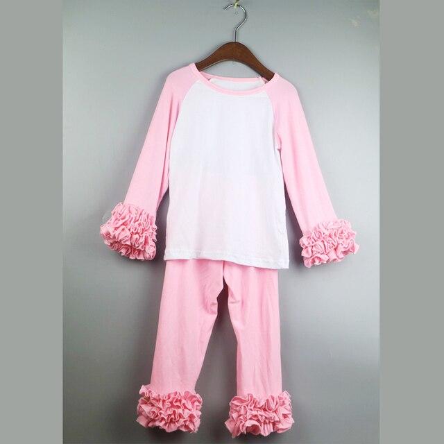 21 colors pink icing 3 ruffles t-shirts girl Christmas tshirts girls tees swing dress shirts green red  tops