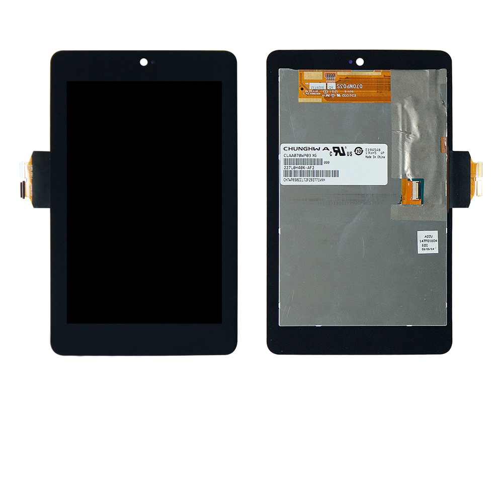 For Asus Google Nexus 7 1st 2012 ME370T Wifi Version Touch Screen Digitizer + LCD Display Assembly Free Shipping lcd display screen panel monitor touch screen digitizer glass for asus google nexus 7 1st gen nexus7 2012 me370 me370t me370tg