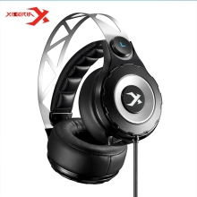 Original XIBERIA T18 7 1 Surround Sound Gaming Headphone Deep Bass With Microphone Headset Headphones For