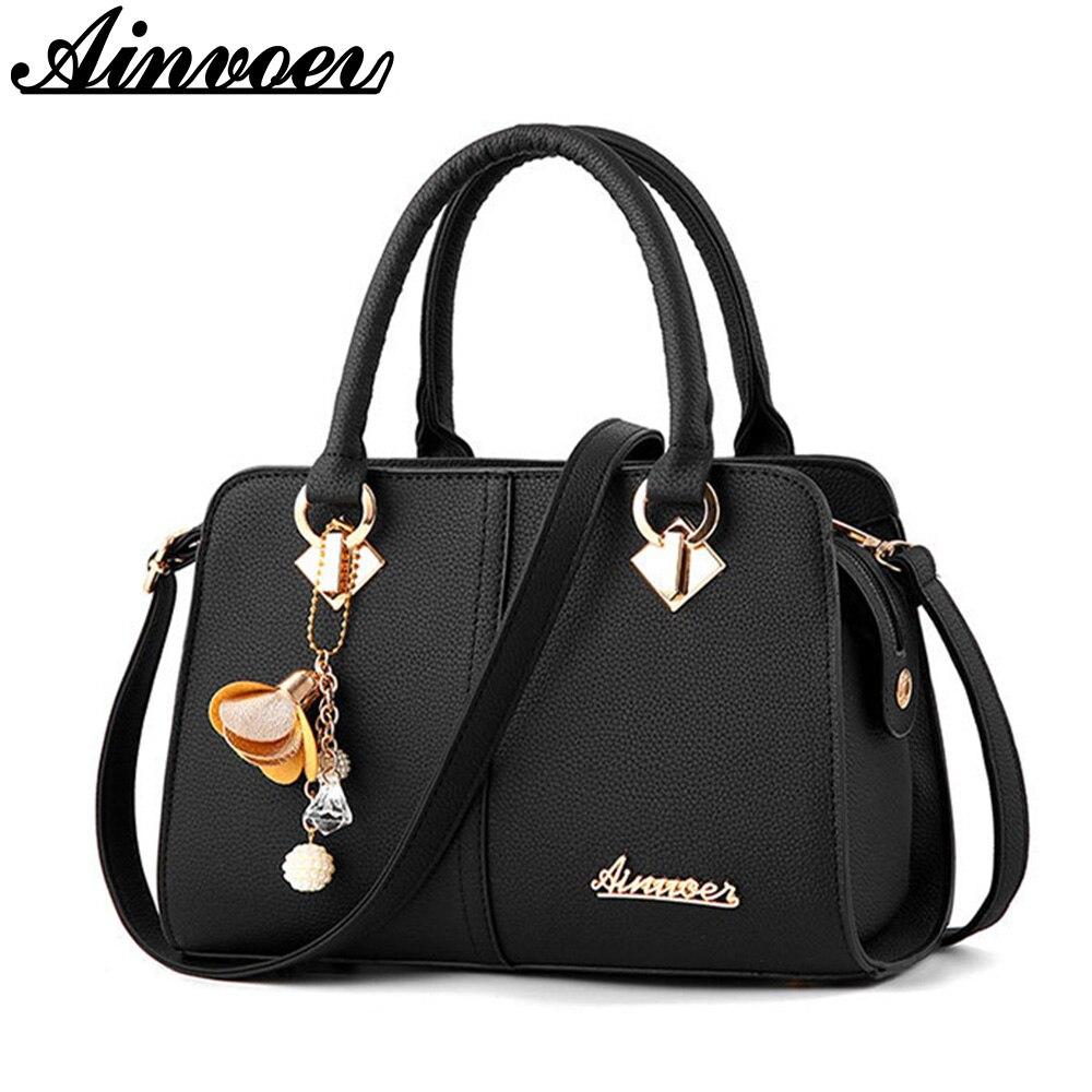 Ainvoev Для женщин Роскошные сумки высокого качества Для женщин Tote Сумки модные плечо Курьерские сумки Лидер продаж через плечо мать мешок A1839/F
