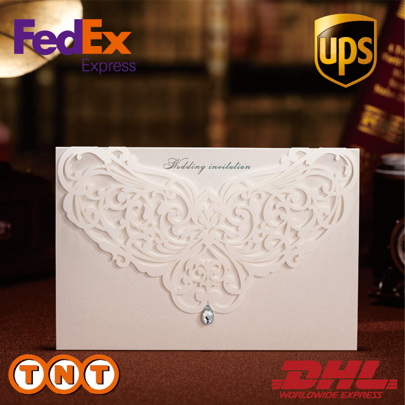 Floral Wedding Card Manufacturer From Hosur: Aliexpress.com : Buy Hot Classic Style Laser Cut Flower