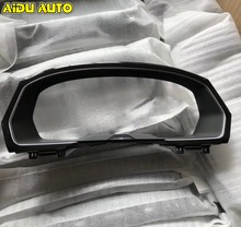 liquid Crystal Virtual Cluster Frame Case Support PIANO PAINT For VW PASSAT B8