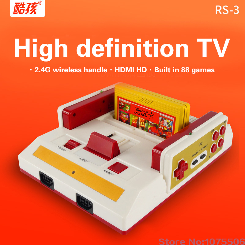 Coolboy RS-3 TV Video Console classic wireless 88 games