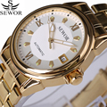 Watches Men Automatic Mechanical Watch Top Brand Full Steel Luxury Business Men's Watches Date Clock relojes hombre 2017 New