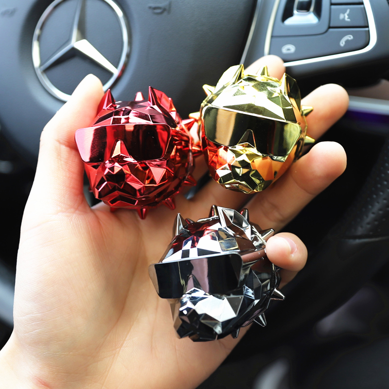 Image 5 - Car Interior Ornaments Cool Dog Head Modeling Aroma Air Outlet Perfume Clamp Clip Vehicle Mounted Aromatherapy Lasting Practical-in Air Freshener from Automobiles & Motorcycles