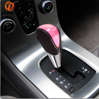 POSSBAY LED Color Change Gear Shift Knob Touch Activated Manual Car Gear Lever Shift Knob Car Decoration Head Handbrake Covers