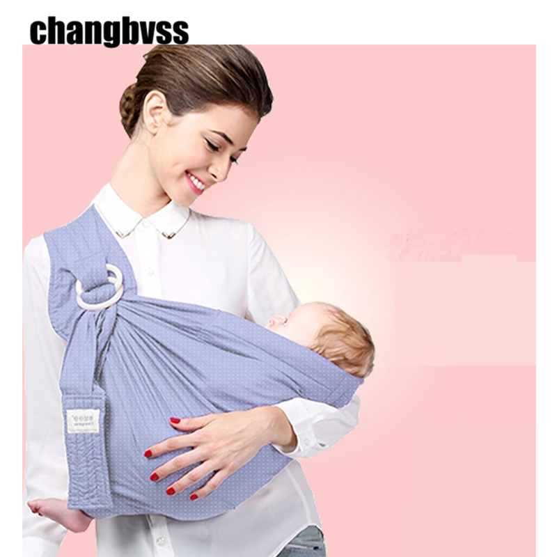 The Cheapest Price Cotton Kid Baby Infant Carrier Soft Baby Sling Breathable Comfortable Wrap Infant Carrier Ring Swing Slings Baby Sling Product Mother & Kids Backpacks & Carriers