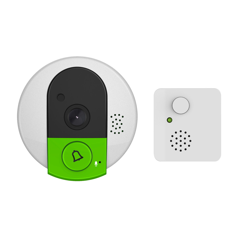 720P HD Wireless WiFi Security IP Door Camera Wifi Video Doorbell IR Night Vision Two Way Audio Wide Angle Video Doorcam Camera howell wireless security hd 960p wifi ip camera p2p pan tilt motion detection video baby monitor 2 way audio and ir night vision