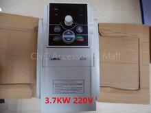 цена на Original VFD Inverter 3.7KW AC220V E300 Series CNC Router Frequency Inverter for spindle, E300-2S0037L