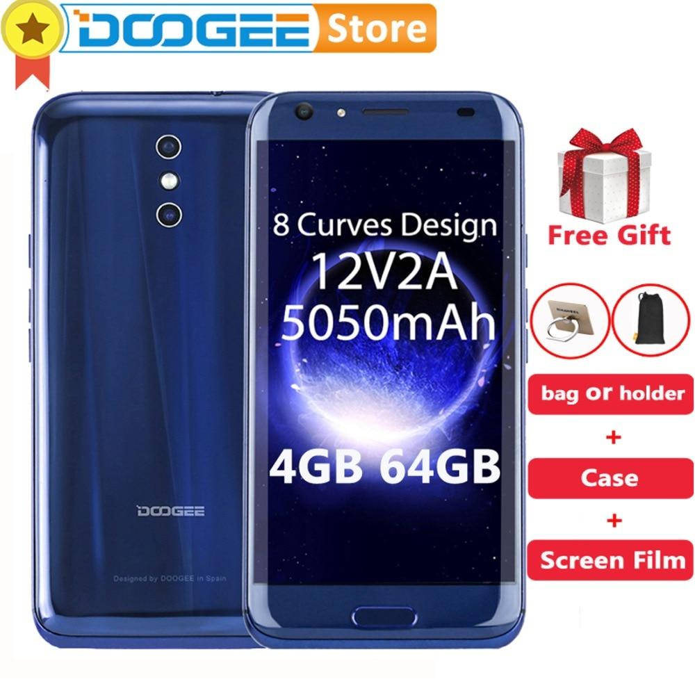 DOOGEE BL5000 5,5 дюймов Full HD 1080 P Экран Android 7,0 Оперативная память 4 ГБ Встроенная память 64 ГБ MTK6750T Octa Core 3 камеры 13MP 4 г LTLE смартфоне 5050 мАч