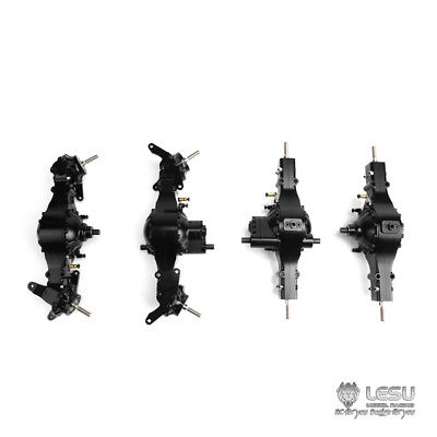 US Stock RC 1//14 Car Metal Front Axle Differential Lock for Q9014 Tamiya LESU