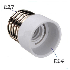 Jiguoor E27 to E14 Lamp Holder