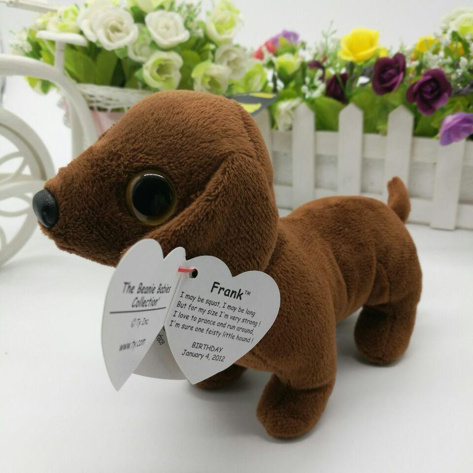 TY Beanie Baby 7.5 inch - MWMT/'s AUGUST the Birthday Bear