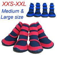 ที่มีคุณภาพสูงรองเท้าสำหรับสุนัขแฟชั่นรองเท้าฝนกันน้ำผ้าสำหรับสุนัขขนาดใหญ่(ขนาดXXS XS Sml XL XXL)...