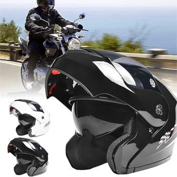 Motorcycle Helmets Safe Double open Flip Up visor cruiser Helmet